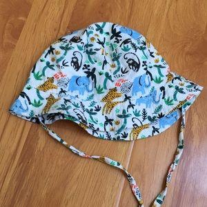 H&M Baby animal print sun hat size 4-6 mos